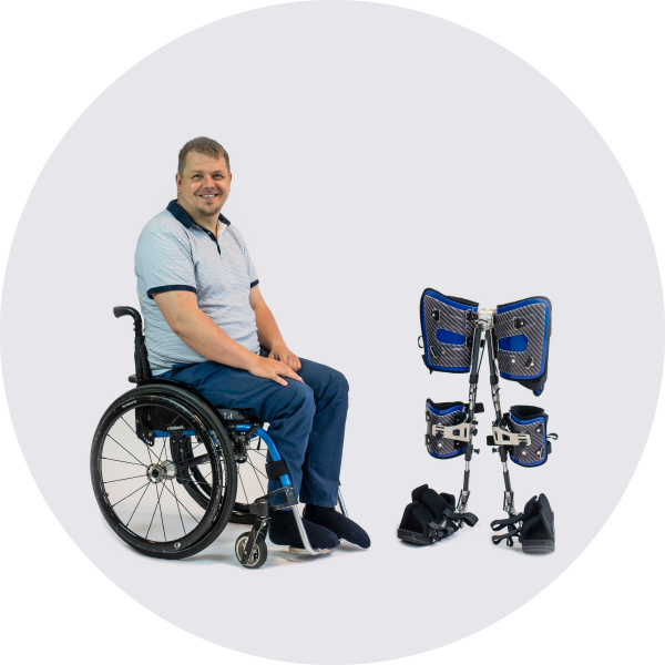 Easy installation directly from a wheelchair