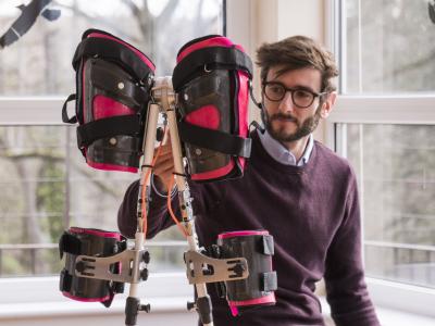 Český MEBSTER pomáhá lidem s poraněním míchy postavit se zpátky na vlastní nohy